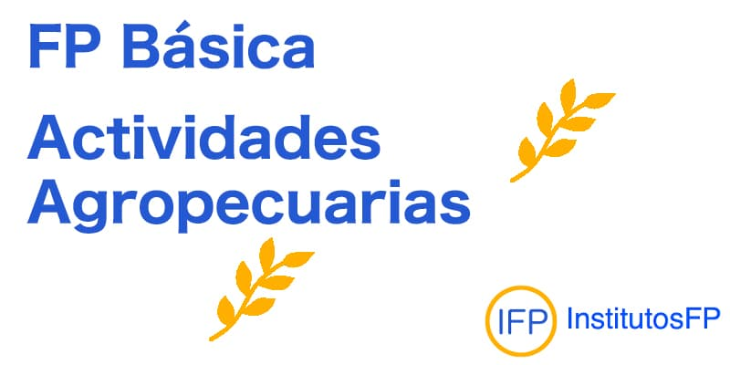 FP Básica Actividades Agropecuarias