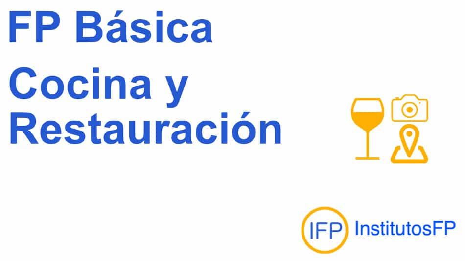 Fp Básica Cocina Y Restauración Institutosfp