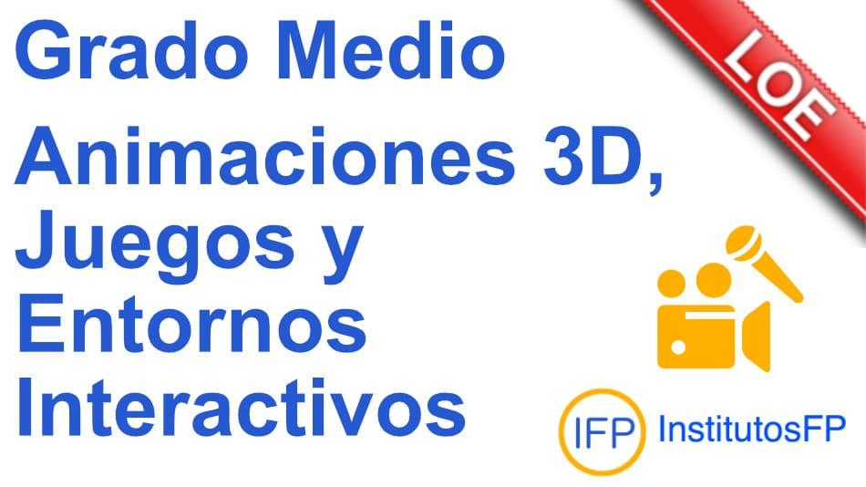 Técnico en animaciones 3d, juegos y entornos interactivos