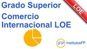 Grado Superior Comercio Internacional LOE