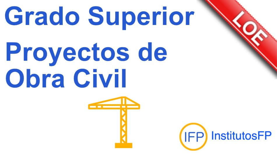 grado superior proyectos de obra civil
