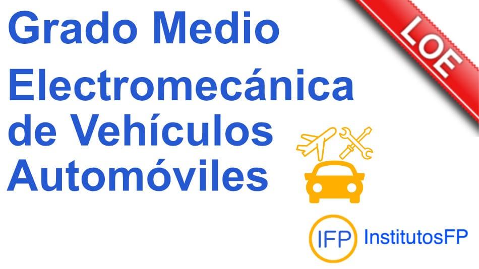 Técnico en electromecánica de vehículos automóviles